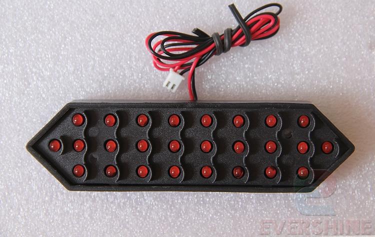 12inch 7 Seqment Modulları Qırmızı Rəng Digita Nömrələri, - LED işıqlandırma - Fotoqrafiya 2