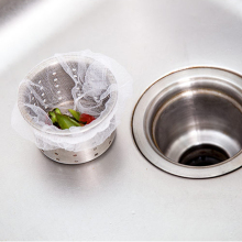 3 Packs 90PC Sink Basin Garbage Bags Mesh Residue Filter Garbage Bags For Kitchen Shower Drain