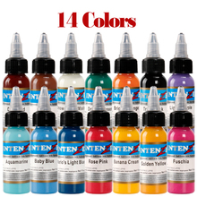 New Design Tattoo Ink Permanent Makeup Pigment Color Set 14 Tone Fine-Tuning Bloodline 30ML
