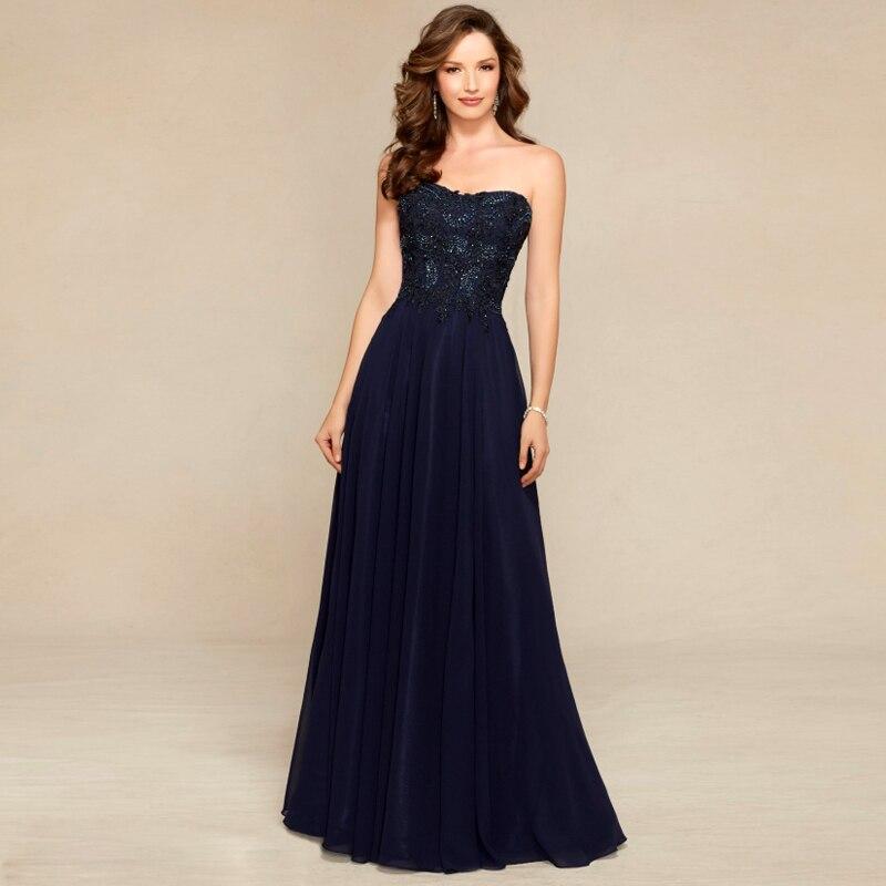 Popular Midnight Blue Evening Dresses-Buy Cheap Midnight Blue ...