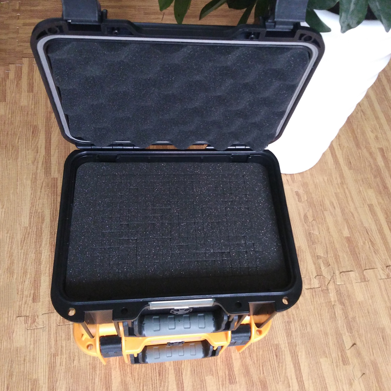 Black Plastic Equipment Carrying Case,sealed safety portable tool box hard case waterproof with foam for camera video equipment carrying case black abs plastic sealed safety portable tool box dj9006