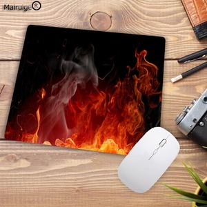 Image 5 - Mairuige Fashion Fire Pattern Printing Mousepad Rubber Rectangle Computer Notebook Mice Mat Gamer Speed Mouse Pad 220*180*2MM