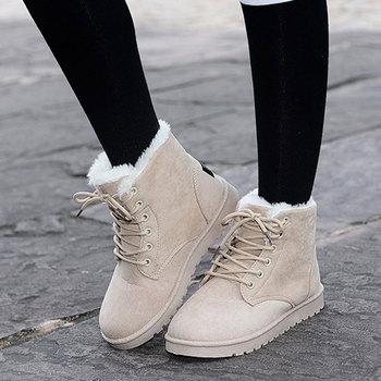 Fur Winter Boots for Women