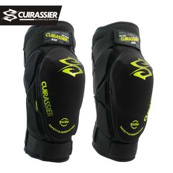 Cuirassier K08 Motorcycle Knee Pads Motocross MX Knee Protector Shin Guards Protective Gears Skating Roller Racing Riding Brace - DISCOUNT ITEM  15 OFF Automobiles & Motorcycles