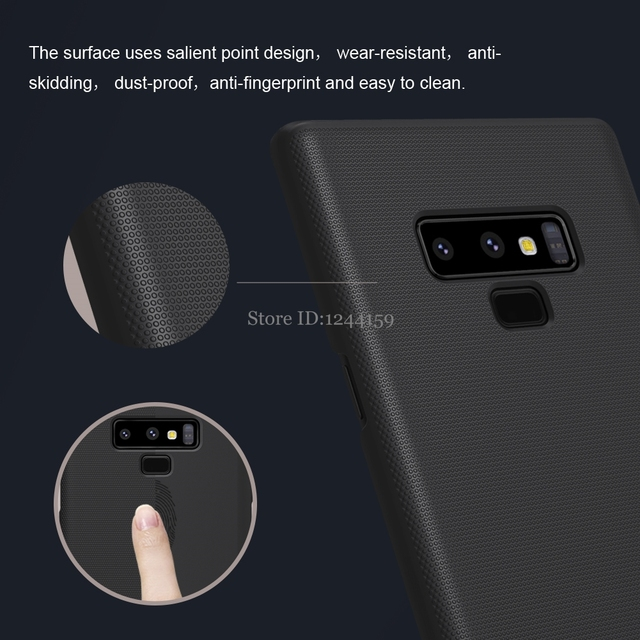 For Samsung Galaxy Note 9 Case Nillkin Frosted Shield Hard Plastic Back Cover Case for Samsung Note 9 with Gift