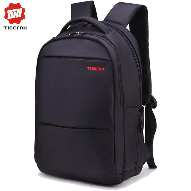 ФОТО 2017 Tigernu Brand Waterproof Men Backpack Business Computer Backpack Bag Women Backpack Men's Laptop Bag Backpack 15.6