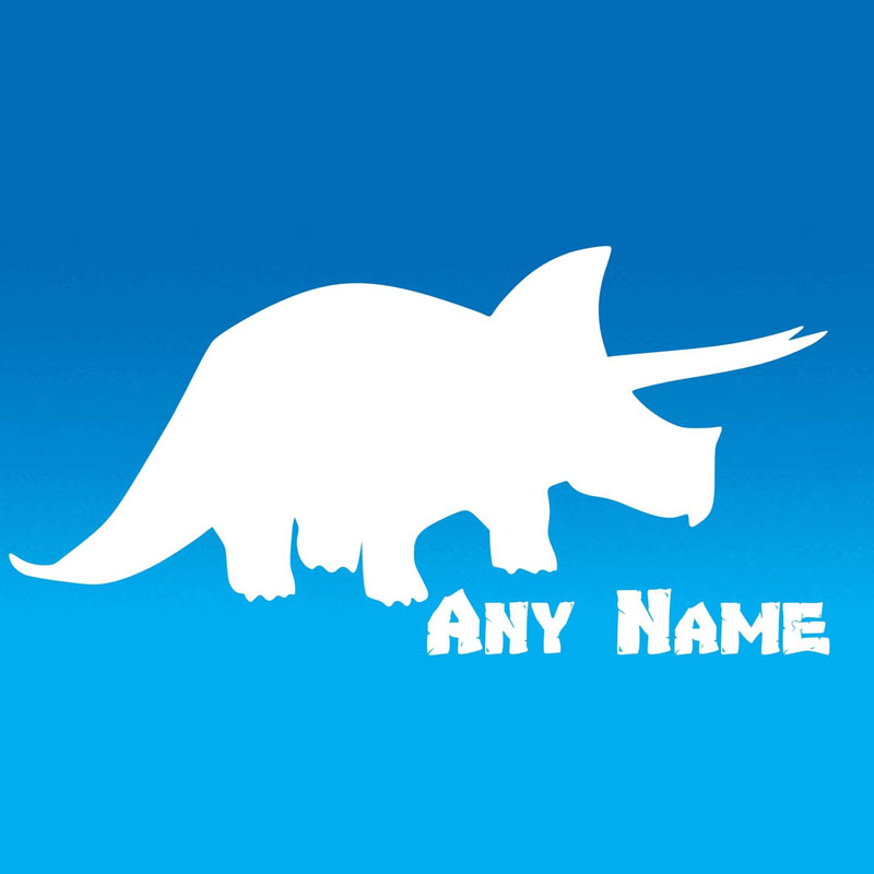 Customized Name Dinosaur Wall Stickers Bedroom Vinyl Removable Wall Decals  Animals Home Decor