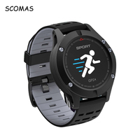 SCOMAS F5 Bluetooth 4 2 Smart Watches With GPS Altimeter Barometer Thermometer Sports Tracker Smart Wrist