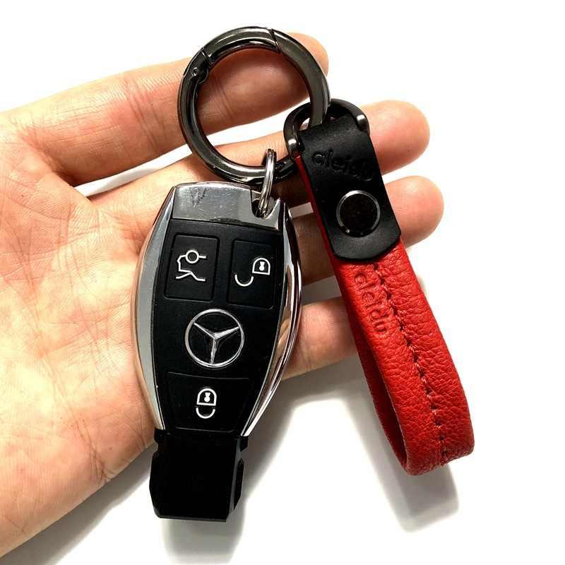 Умный брелок из овечьей кожи, мужской автомобильный брелок, роскошные высококачественные держатели ключей от автомобиля, держатель для ключей для путешествий