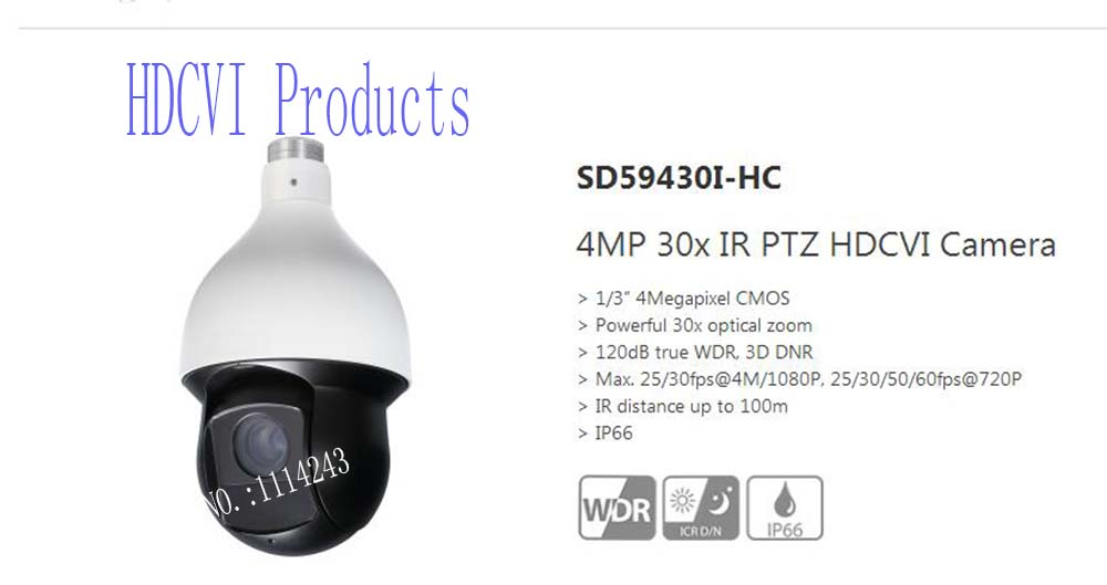 aliexpresscom buy dahua cctv security camera 4mp 30x ir