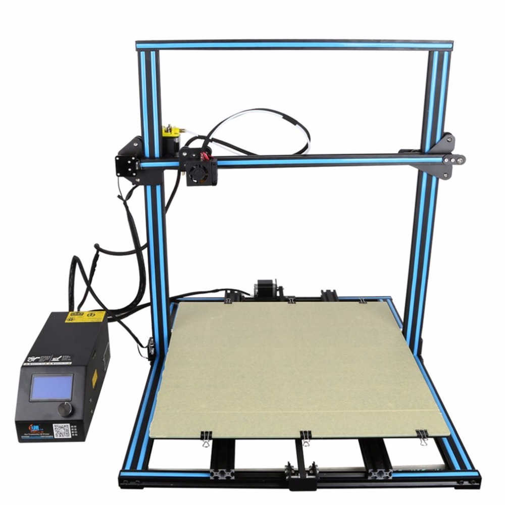 3D Printer 500*500*500mm Large Printing Size With Filament Detector LCD Display DIY Desktop Printer creality 3d cr 10 series large 3d printer large printing size 500 500 500mm diy kit 3d printing machine with aluminum hotbed