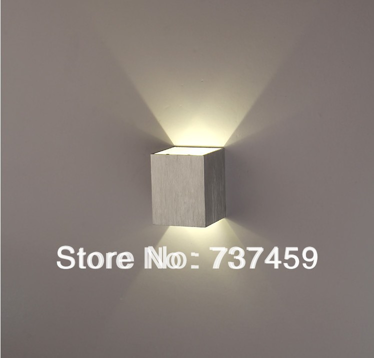 Free Shipping 2pcs Lot 3w Led Wall Light Lamp Up And Down Side 2year Warranty In Indoor Lamps From Lights Lighting On