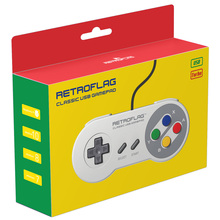 Retroflag Original USB Gamepad SUPERPi Game Controller for SUPERPi CASE U / CASE J / NESPi Case / Raspberry Pi/Switch/Windows