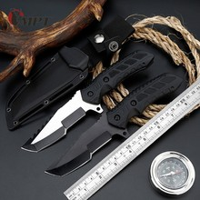 hunting knife fixed blade survival knifves tactical  Pocket hunting knife machet Multitool Outdoor Camping Tool Cs Go