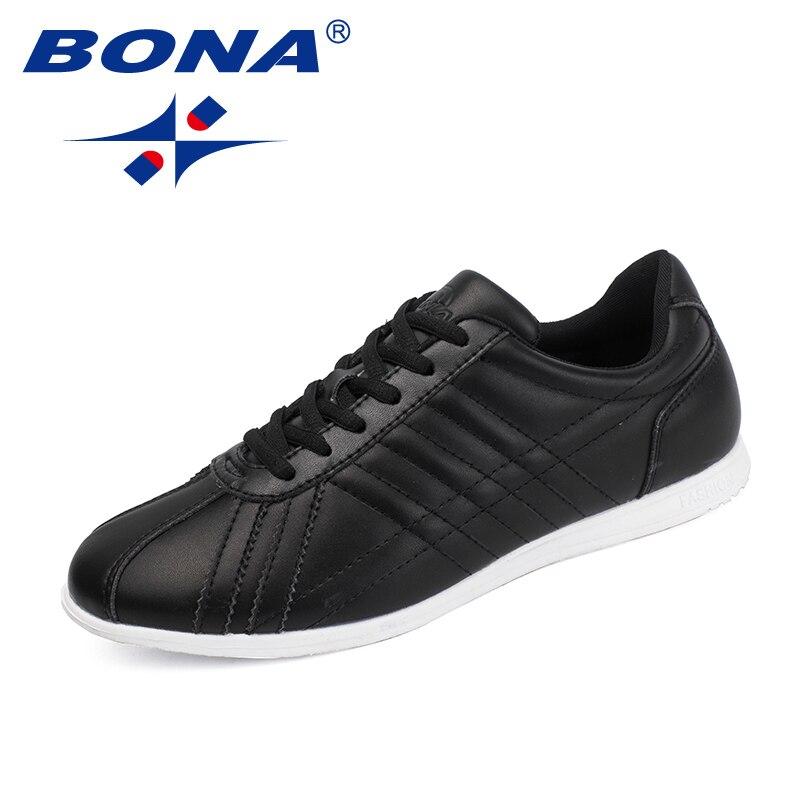 BONA nouveauté classique Style hommes chaussures de marche microfibre hommes chaussures d'athlétisme chaussures de Jogging en plein air chaussures de sport à lacets
