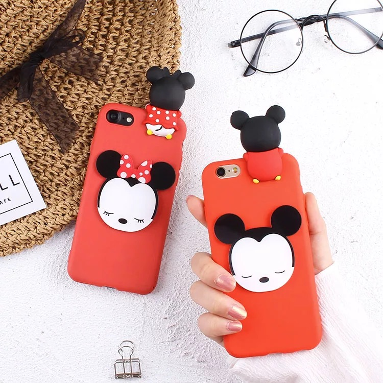 Cases For Vivo V7 PLUS V5S V5 Y66 3D Dolls Minnie Pooh Daisy Soft TPU Back  Covers For Vivo Y55 Y67 V3 MAX X20 Y79 Y69 Y53 Capas-in Fitted Cases from  ... 26b35320dd98