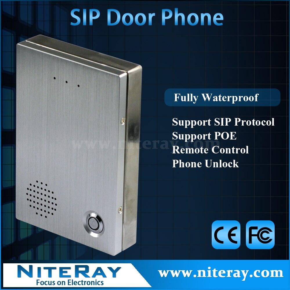 Sicurezza IP telefono del portello citofono telefono compatibile con  serratura magnetica porta IP pbx di sistema e4dff84389c9