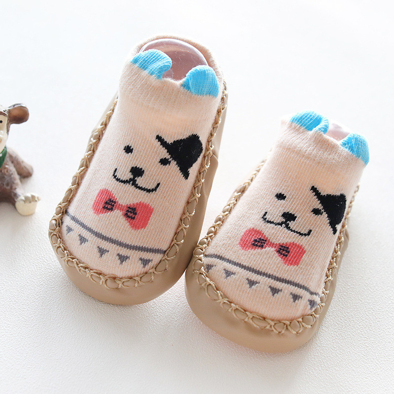 Newborn Baby Girls Boys First Walkers Leather Baby Shoes Infant Toddler Boy Shoes Soft Sole Autumn Babies Shoes For Baby Girls