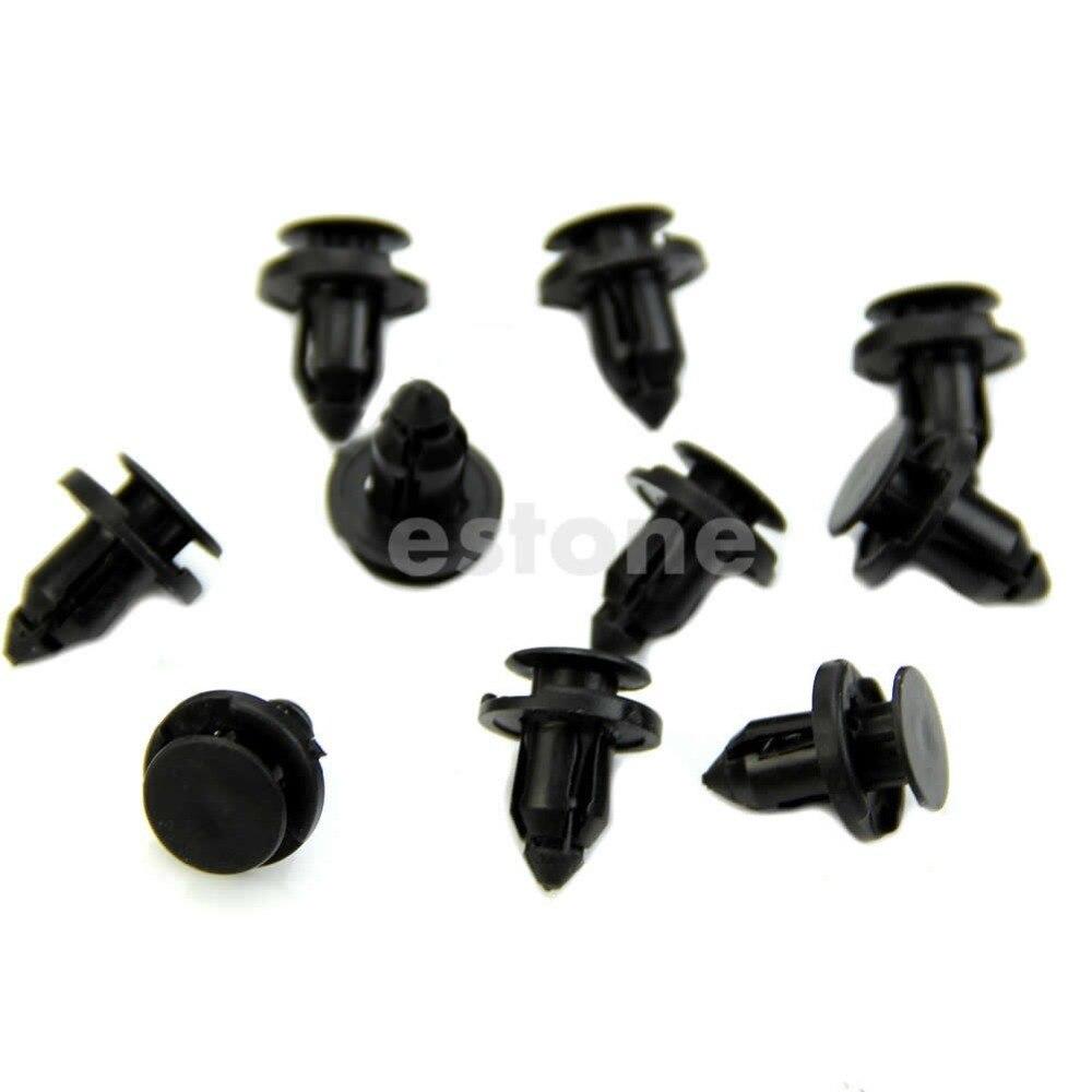 HONDA TYPE 8mm TRIM CLIPS FASTENER X 10
