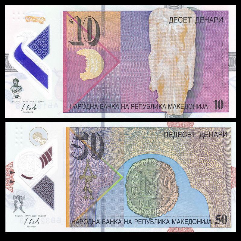 POLYMER UNC 2012 5 x 200 Francs LOT Kerguelen Island