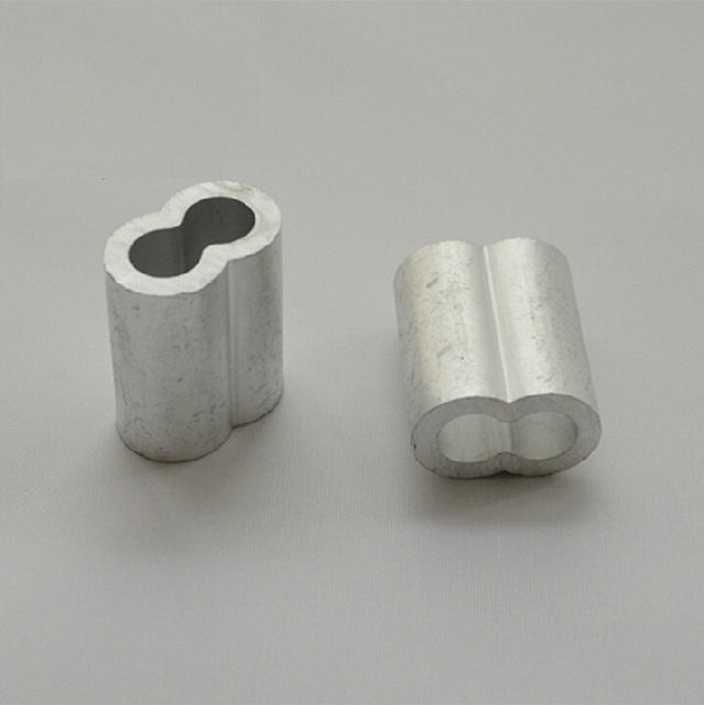 2mm M2 wholesale rigging hardware wire rope aluminum oval ferrule sleeves free shipping