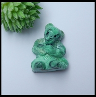 SALE New Fashion Handmade Bear Green Turquoise Animal Children's Day gift Pendant Accessories