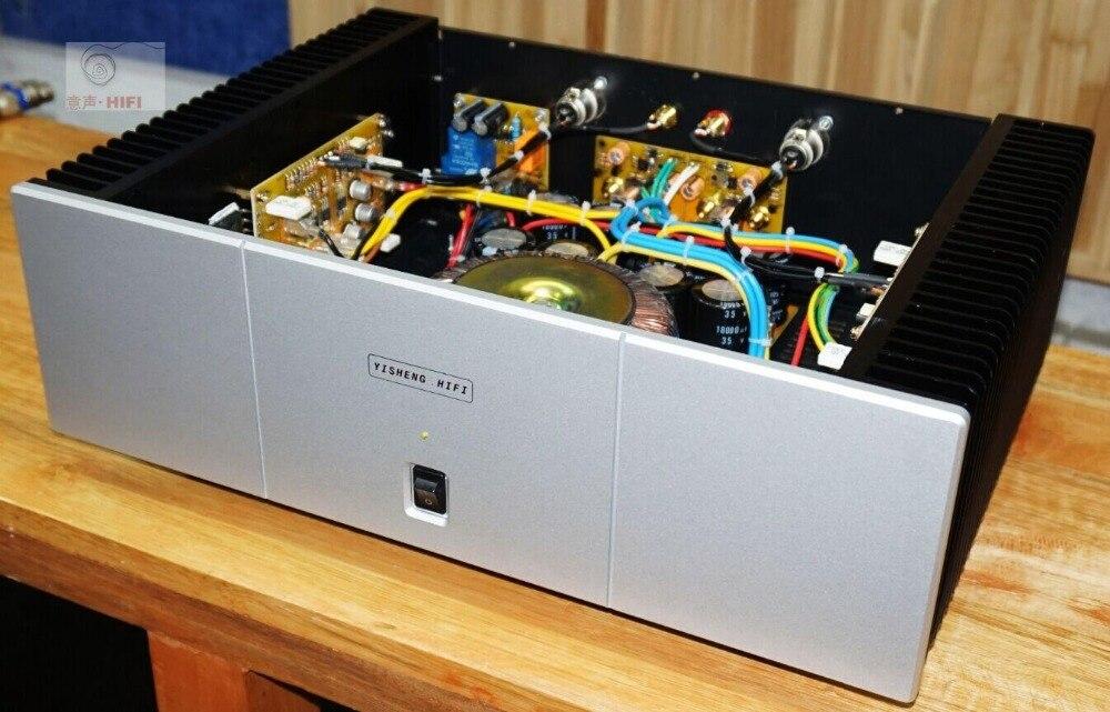PASSER A3 HIFI single-ended classe A amplificateur de puissance pure classe UNE entrée symétrique