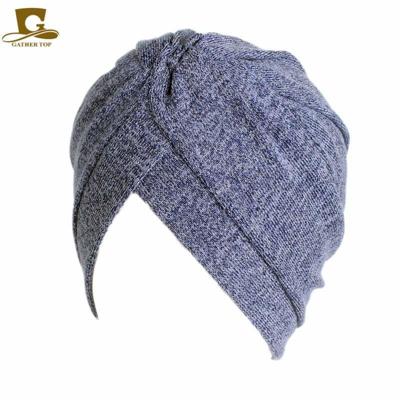 Frauen Baumwolle Motorhaube Kopfbedeckungen Turban Unbegrenzte 100% - Bekleidungszubehör - Foto 3