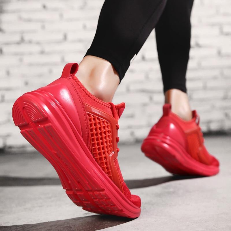 47 Noir 39 Mesh Hombre Plein Respirant Chaussures rouge Air Marche Zapatos 2018 En Sneakers De Automne Taille Printemps vert Hommes blanc Grande AUUTaxqnf