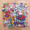 High AAA Quality  6Line  Freeshipping 10mm Mix Color 100 PC  Cz Crystal Disco Ball  handmade Shamballa  Beads  fit  Gift V0245