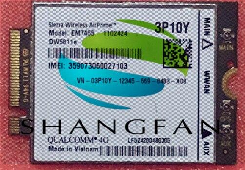 4G WLAN CARD for SIERRA EM7455 DW5811E 300M for E7270 E7470 E7370 E5570 Wireless FDD/TDD LTE 4G Cat6 Gobi6000 +Antenna цена 2017