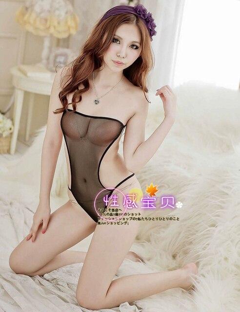 Sexy Womens Underwear Perspective Gauze Bodysuit St6306 Clothing Lounge Erotic Underwear Of The Women