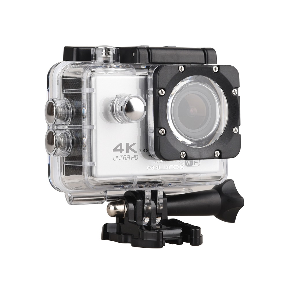 F60/F60R WIFI caméra d'action étanche 4 K Ultra HD caméra casque vélo caméra sport sous-marin 1080 P 16MP caméra voiture caméscope