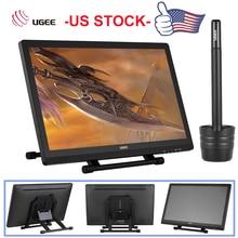 """Nowy Ugee 2150 21.5 """"5080LPI 1080P HD tablet graficzny do rysowania ekran IPS monitora wyświetlacz stojak inteligentny długopis do szuflady malarz"""