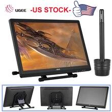 """Ugee tableta de dibujo gráfico de 2150 """", 5080LPI 21,5 P HD, pantalla IPS, Monitor, soporte de pantalla, bolígrafo inteligente para pintor de cajones, novedad"""