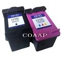 Сменный картридж COAAP для HP 123 XL  чернильный картридж для моделей HP123 123XL Deskjet 1110 2130 2132 2133 2134 3630 3632 3637 3638