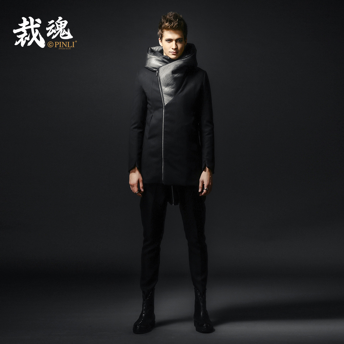 2017 Time limited Patchwork Fashion Winter Jacket Men Pinli Cut The Soul Winter Clothes New Mens