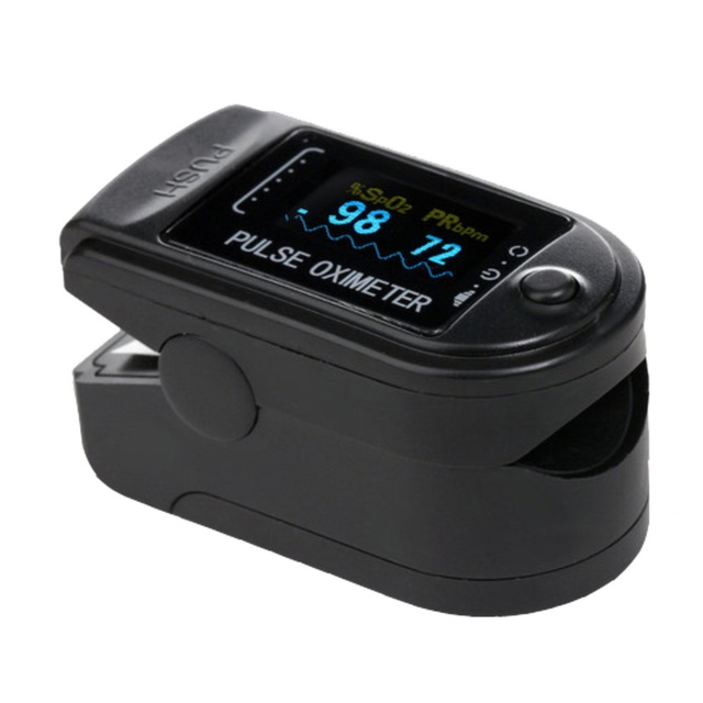 Fingertip pulse oximeter spo2 monitor pulse oximeter module 50D SPO2 and pulse rate fast delivery 1