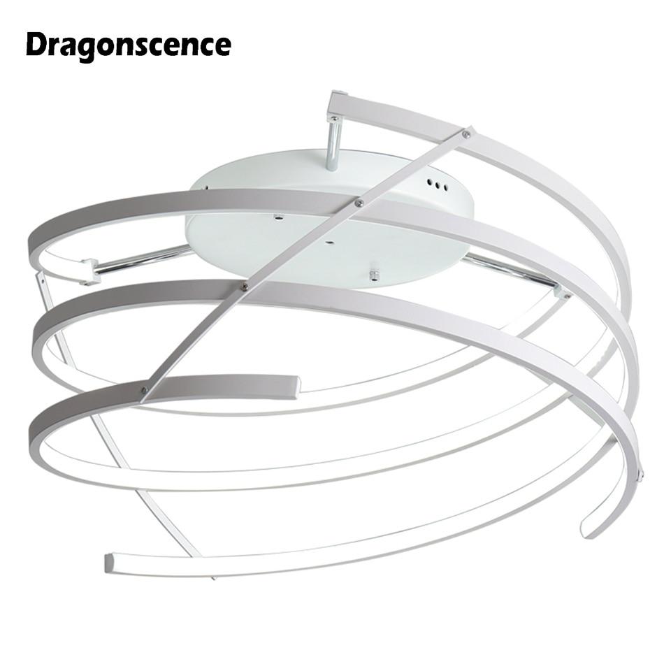 Dragonscence Aluminum Modern led ceiling lights home lighting ceiling lamp fixtures for living room bedroom dining room