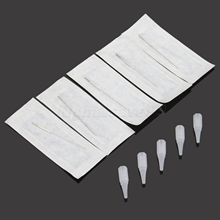 50Pcs 3R Tattoo Needles And 50pcs 3R Tips For Permanent For Makeup Eyebrow Needle Eyeliner Round Pins Round Mouth Caps