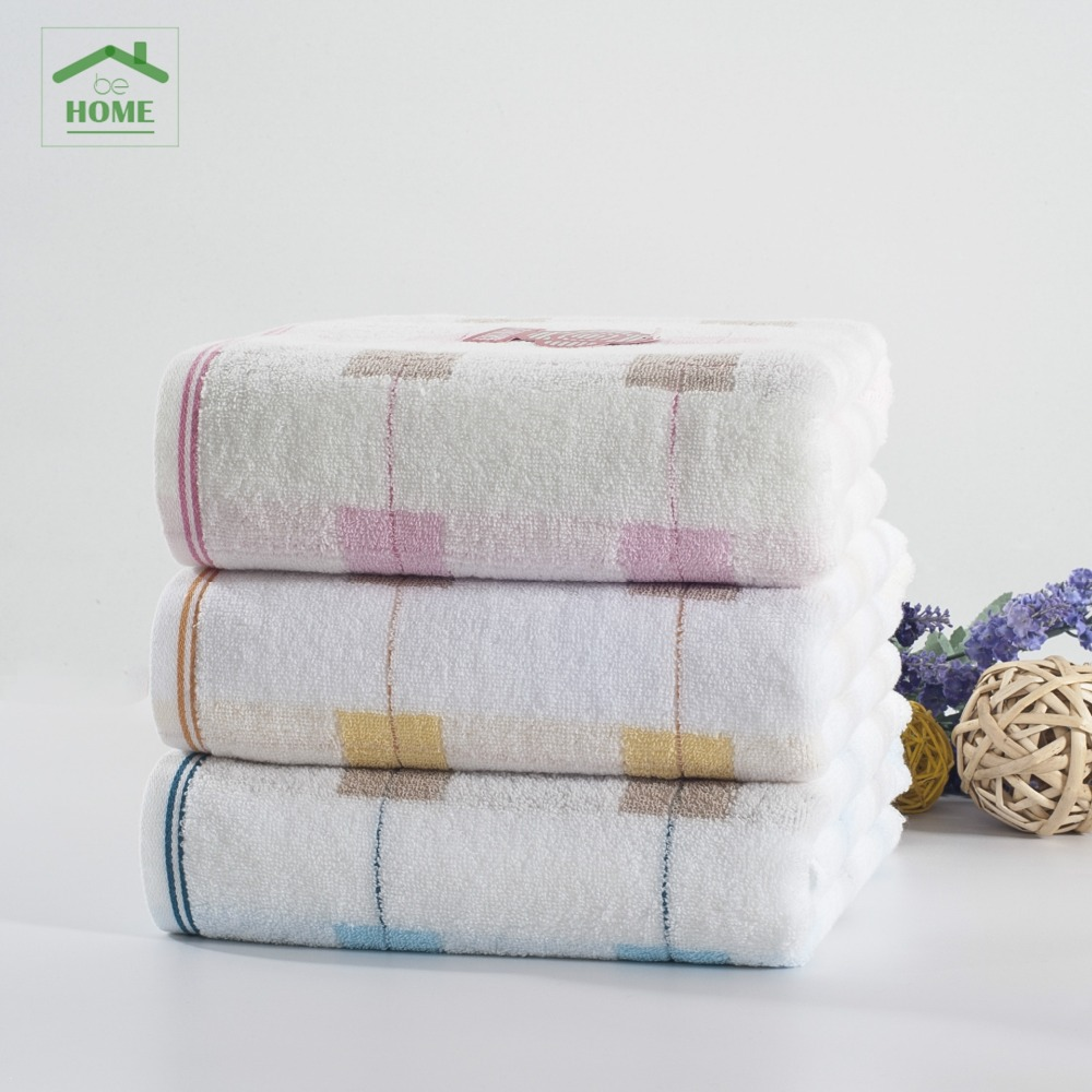 2016 Behome 70*140 CM High Quality Baby Bath Towels 100% Cotton Solid New Born Baby Towels Child Bathrobe New Beach Towels