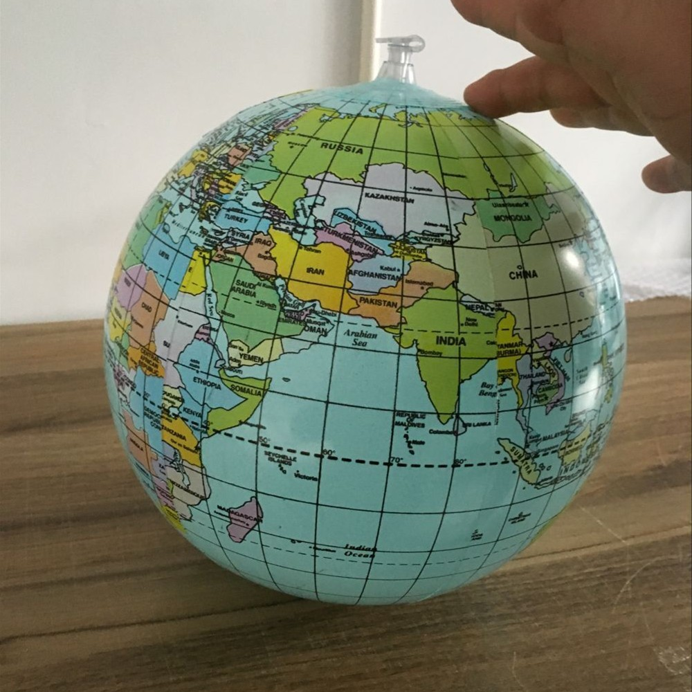 Inflatable Globe World Map. More Products Inflatable Globe Toy Ball Baby Early Educational Teaching Tool
