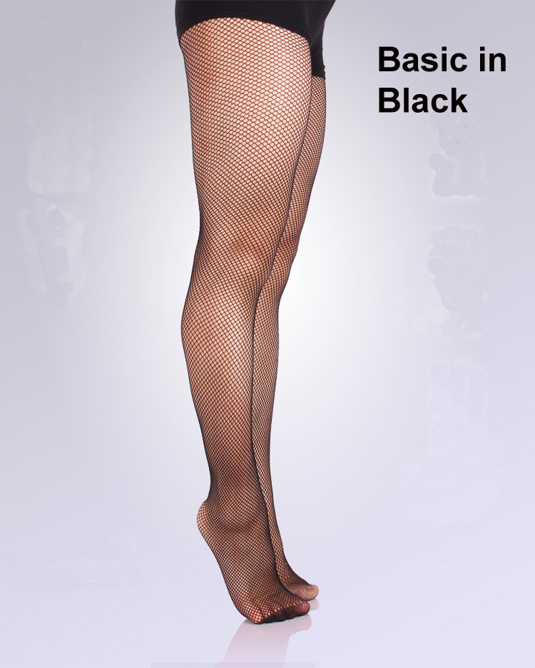 ee131f0179af1 Black Nude Caramel Footed And Toeless Basic Fishnet Tights For Ballroom  Latin Dance Soft Yarn Girls Women Use