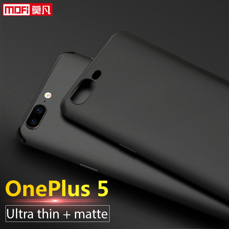 Крышка корпуса OnePlus 5 OnePlus 5 корпус Сіліконавая матавая Mofi Ultra Thin One Plus A5000 Capas Tpu Soft Back Coque OnePlus 5 Case