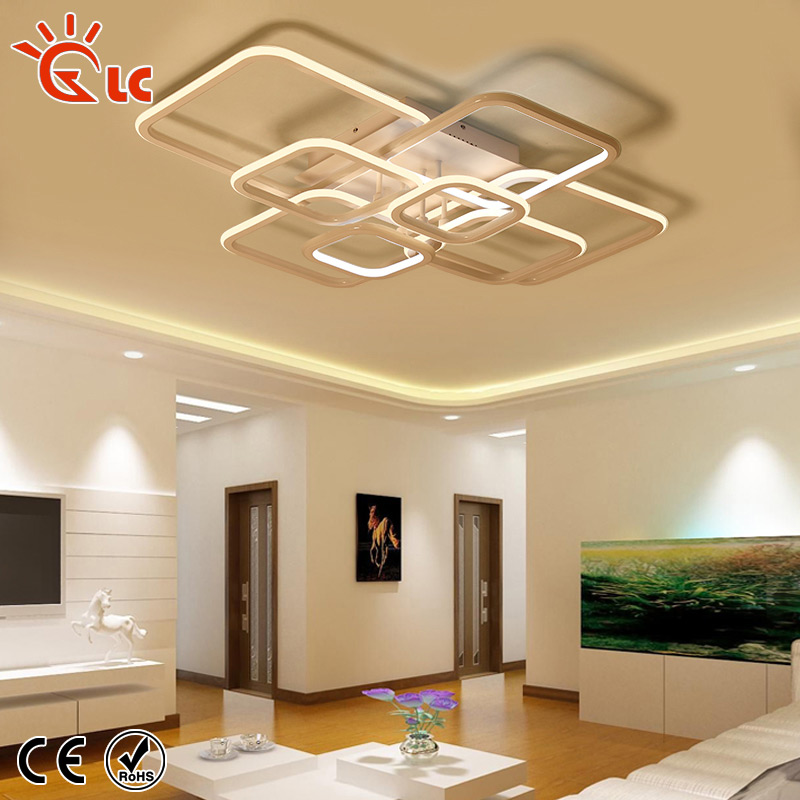LED Pendant Lights Aluminum Acrylic Ceiling Lamp Dimmable Warm White living room Modern Indoor Lighting FixturesLED Pendant Lights Aluminum Acrylic Ceiling Lamp Dimmable Warm White living room Modern Indoor Lighting Fixtures