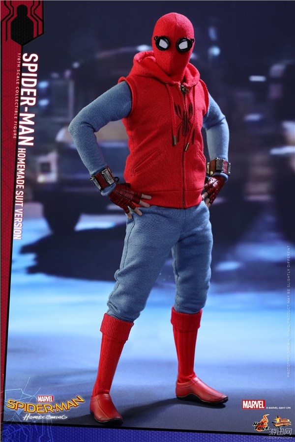 US $61 41 11% OFF Spider Man Homecoming Homemade Suit Cosplay Costume Red  Spiderman Peter Parker Sleeveless Hoodie Men Shirt Hero Battle Outfit-in