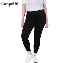 Women Leggings Plus Size 5xl 6xl Big Sizes Women Clothing Large Slim Legging Pants 3xl Women Leggins Black Capris 9th 4XL gloss