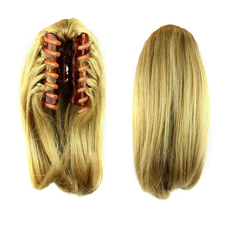 8 Types Clip In Ponytail Hairpieces False