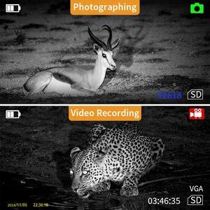 Image 4 - BOBLOV P4 5X التكبير الرقمي ناظور أحادي العين للرؤية الليلية حملق الصيد الرؤية أحادي 200 متر كاميرا تعمل بالأشعة تحت الحمراء وظيفة للصيد 8 جيجابايت