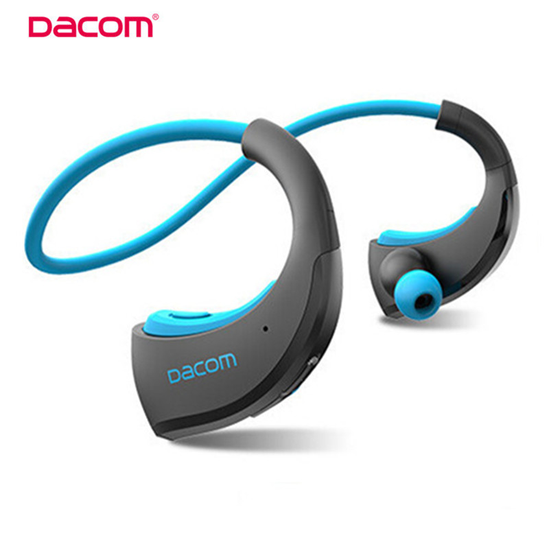 Dacom Armor <font><b>Bluetooth</b></font> V4.1 Stereo Headphones IPX5 Waterproof Wireless Outdoor Sports Headset Handsfree Music Earphone With Mic